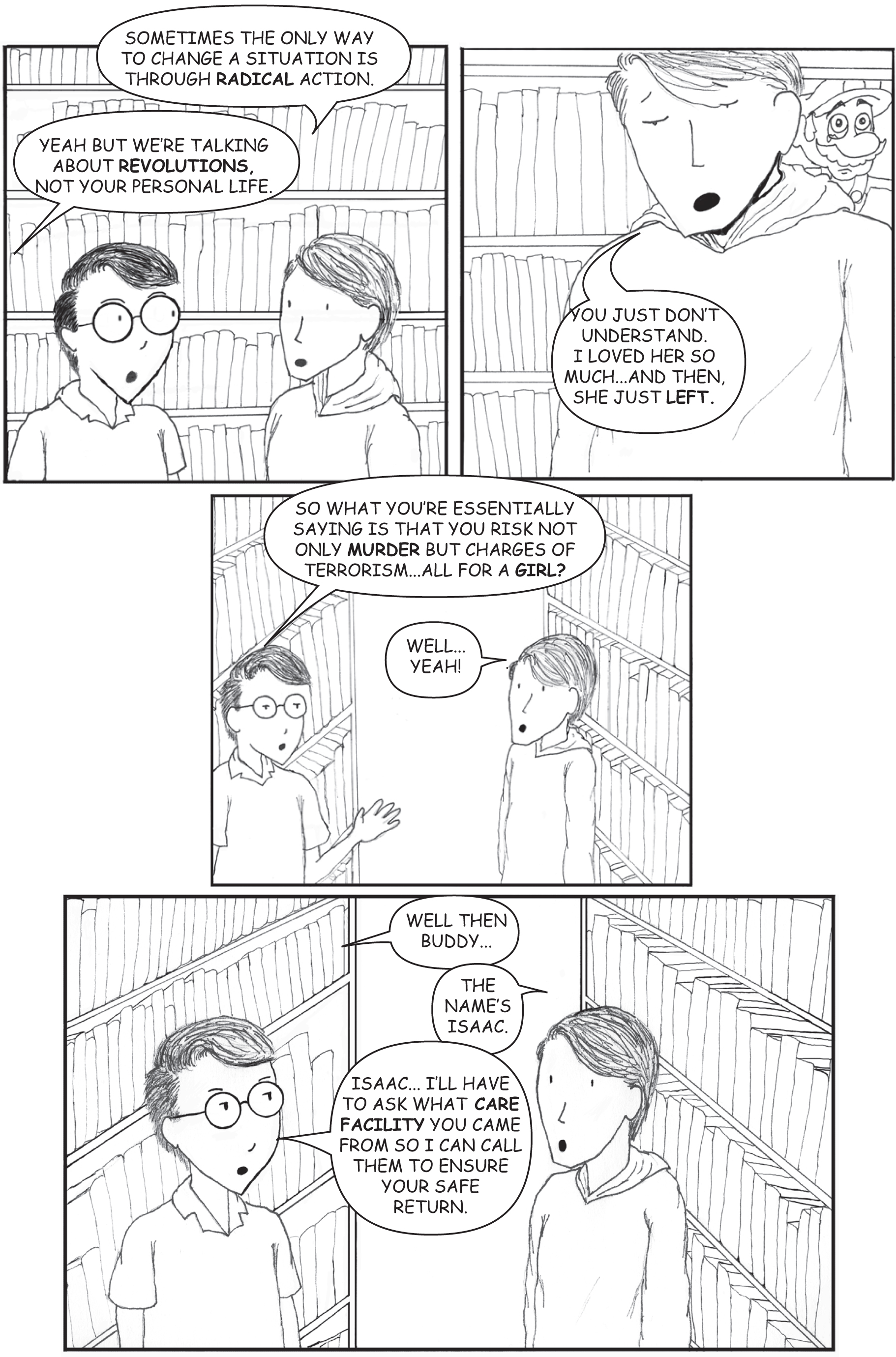 Isaac and Lee Issue 1 Page 6